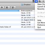 Beispiel Dropbox