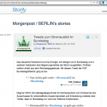 Beispiel Storify