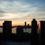 Sonnenuntergang mit Blick aus dem Propublica-Büro. Foto: Dan Nguyen (CC)