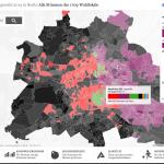 Gewinner, Verlierer, Statistiken: Unsere Karte mit allen Wahllokal-Ergebnissen