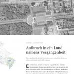 "Web-Reportage ""Die Narbe der Stadt"""