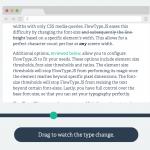 Flowtype sorgt für eine optimale Text-Darstellung