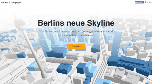 Titel Berlins neue Skyline